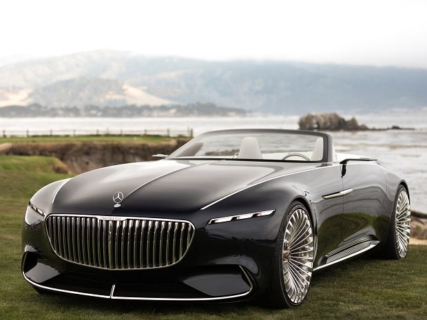 Nowe auto koncepcyjne od Mercedes-Maybach - Vision 6