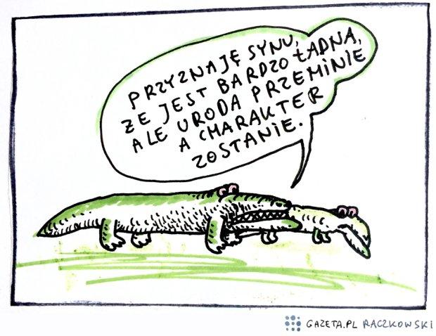 Raczkowski o urodzie -  - rys. Marek Raczkowski