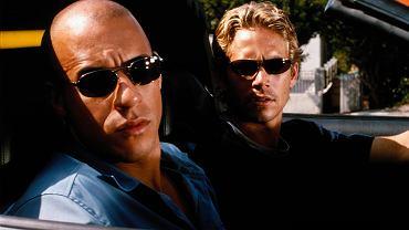"""Paul Walker i Vin Diesel w """"Szybkich i wściekłych""""."""