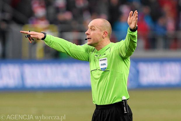 Szymon Marciniak poprowadzi mecz Ligi Mistrzów Juventus - Barcelona
