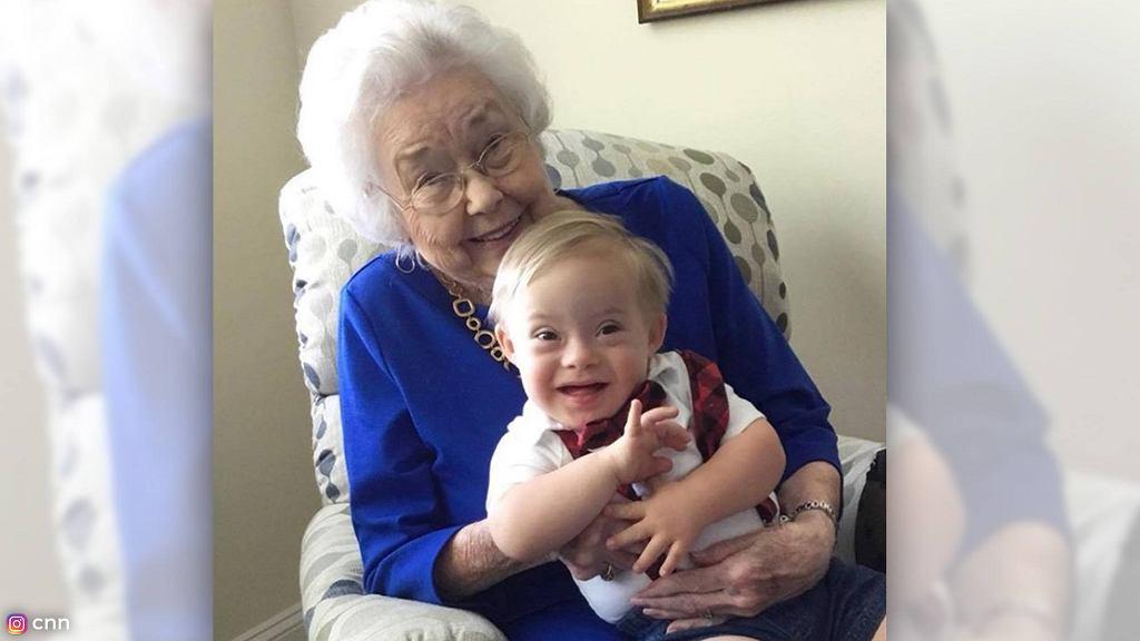 Najstarsza i najmłodsza twarz marki Gerber na jednym zdjęciu.