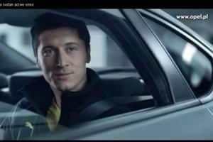 Lewandowski w reklamie Opla