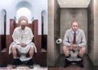 """Papież Franciszek i Władimir Putin na sedesie. """"Nawet oni są normalnymi ludźmi"""""""