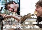 Allan Dixon i dzikie zwierz�ta, kt�re uwielbiaj� robi� sobie z nim selfe