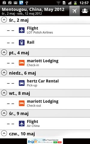 Tagi: top 10, aplikacja, podróże, android, apple, Top 10: aplikacje podróżnicze, Tripit