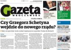 """""""Gazeta Wrocławska"""": Schetyna wejdzie do rządu. Zastąpi Bieńkowską?"""