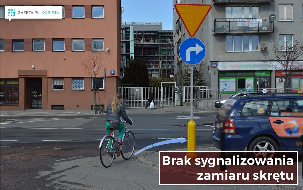 Najczęstsze błędy rowerzystów.