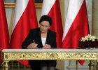 """Prezydent powo�a� Ew� Kopacz na premiera, nowi ministrowie zaprzysi�eni. """"To b�dzie dobry i pracowity rz�d"""""""