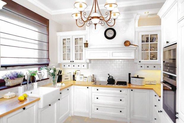 Białe kuchnie w różnych cenach -> Castorama Kuchnia City Biala