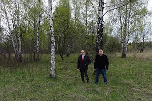 Mieszkańcy chcą zamienić pofałdowane i podmokłe tereny w niezwykły park Grabocin