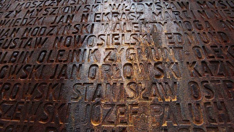 Pomnik w Katyniu