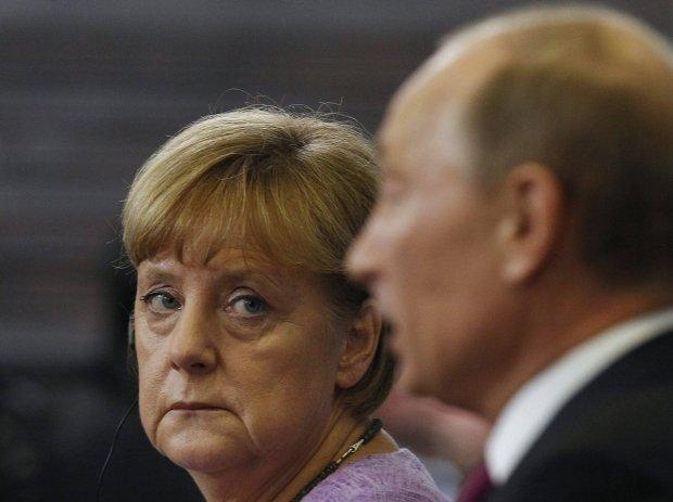 Angela Merkel i Wadimir Putin
