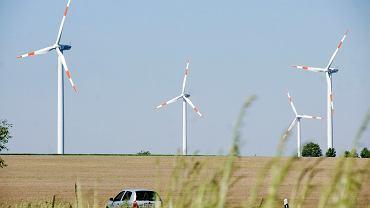 Farma wiatrowa w Michowie