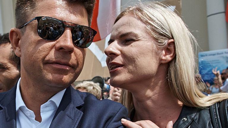 Ryszard Petru i Joanna Schmidt