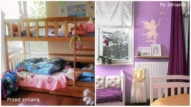 Metamorfoza pokoju dziewczynek