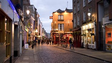 Irlandia Dublin - Temple Bar