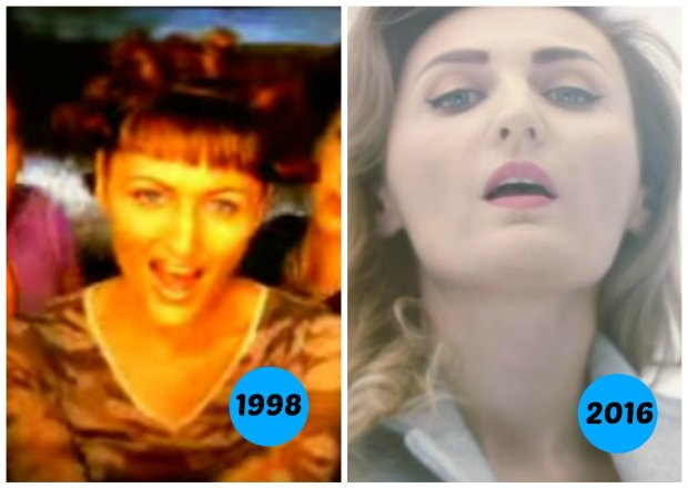 """Reni Jusis zaprezentowała nam nowy teledysk """"Bejbi Siter"""". Z tej okazji sięgnęliśmy do początku jej kariery i sprawdziliśmy, jak wyglądała w klipie do piosenki """"Zakręcona"""". Metamorfoza jest duża, ale nie aż tak, jak w przypadku innych wokalistek: Dody czy Beaty Kozidrak. Zobaczcie jak się zmieniły polskie gwiazdy."""