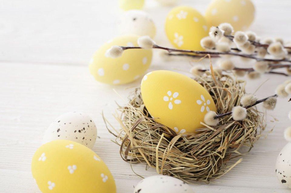 Wielkanoc kojarzy się z jajkami. Pojawiają się one na stole - i do jedzenia, i jako element dekoracyjny. Nie może ich także zabraknąć w święconce.