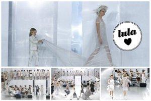 Pokaz Chanel Haute Couture piękniejszy niż kiedykolwiek! Zobaczcie Carę Delevingne w sukni ślubnej i inne modelki w zjawiskowych kreacjach [WIDEO + ZDJĘCIA]