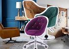 Fotele obrotowe do salonu, biura i pokoju dziecięcego - jak wybrać odpowiedni?