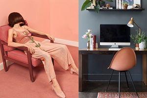 Kolor brzoskwiniowy znowu modny we wnętrzach! Meble i dodatki