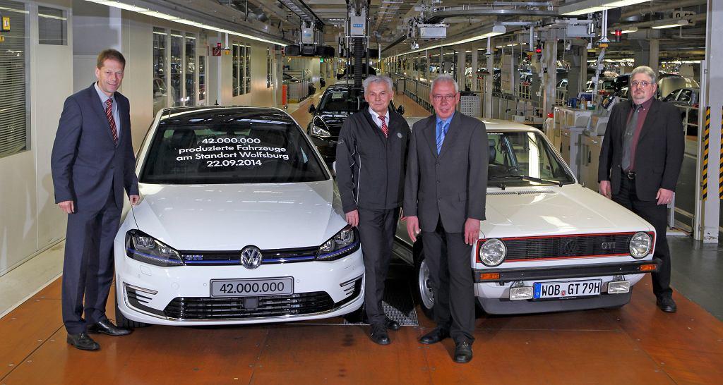 42-milionowy Volkswagen z Wolfsburga