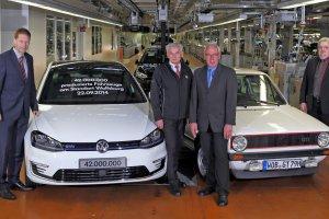 42 miliony Volkswagen�w z Wolfsburga
