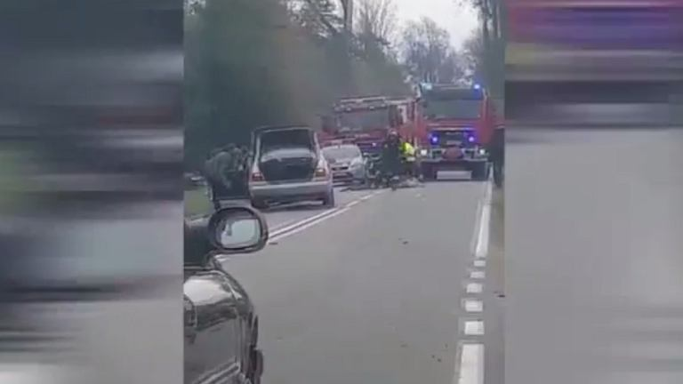 Wypadek pod Bartoszycami