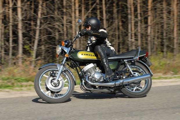 Kawasaki MACH III - demon prędkości