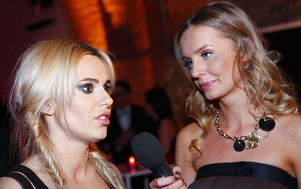 Doda i Agnieszka Szulim na 40. urodzinach TVP2 w październiku 2010 roku