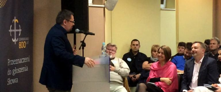Tomasz Terlikowski na spotkaniu w ramach Tygodnia Spo�ecznego w Szczecinie