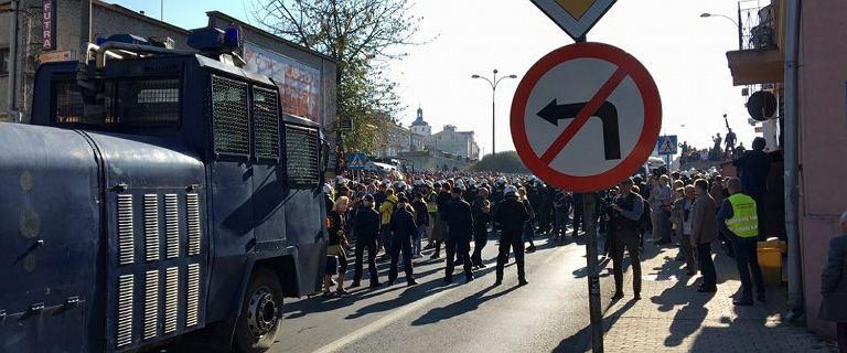 Marsz Równości w Lublinie nie przeszedł spokojnie. ''Narodowcy i kibole jak zwykle dali popis''
