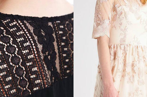 ba6c6a03b4 stylizacje beżowa koronkowa sukienka. Karolina Czuchaj. Koronka w letnim  wydaniu - ubrania