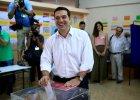 W Grecji trwaj� przedterminowe wybory. Liderzy �eb w �eb w sonda�ach