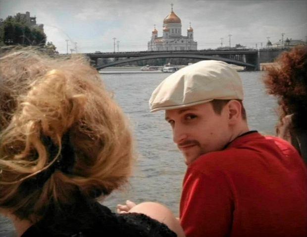 Edward Snowden w Moskwie