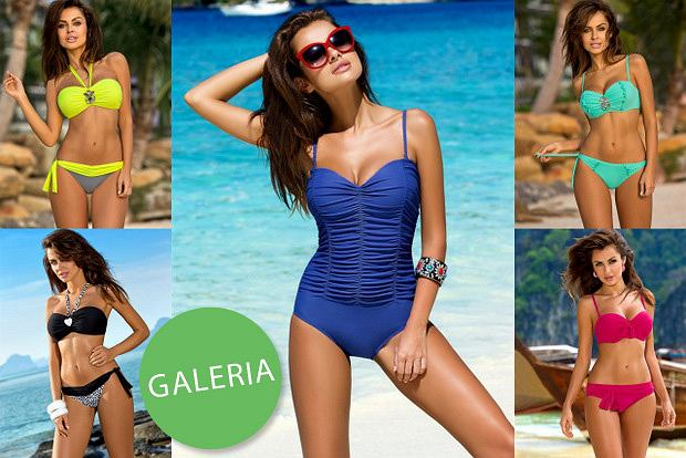 Natalia Siwiec w kampanii kostiumów kąpielowych marki Gabbiano