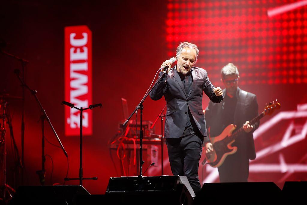 Artur Rojek na trasie Męskie Granie 2017 w Krakowie / Fot. Damian Kramski / LIVE