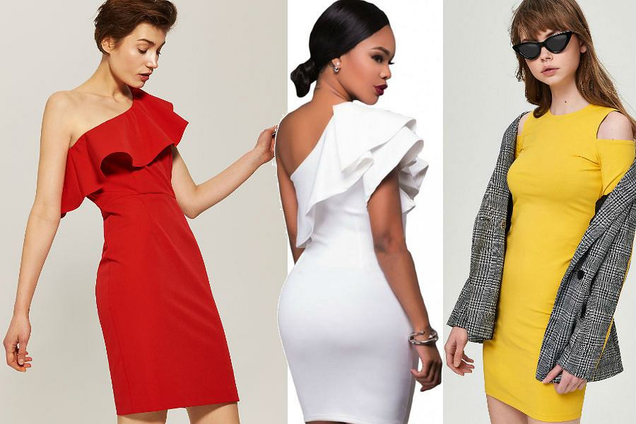 Sukienki odsłaniające ramiona