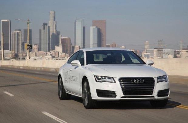 Salon Los Angeles 2014 | Audi A7 Sportback h-tron quattro | Koncept na wod�r
