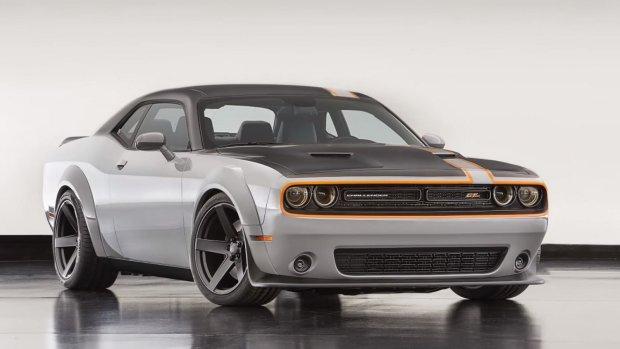 SEMA 2015 | Challenger AWD i inne