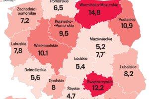 2,8 mln Polaków żyło w 2014 r. w skrajnym ubóstwie. Gdzie w Polsce jest bieda?