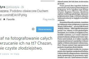 """Dziennikarka Polsatu zawieszona za zamieszczenie artyku�u """"Wprost"""" na Twitterze"""