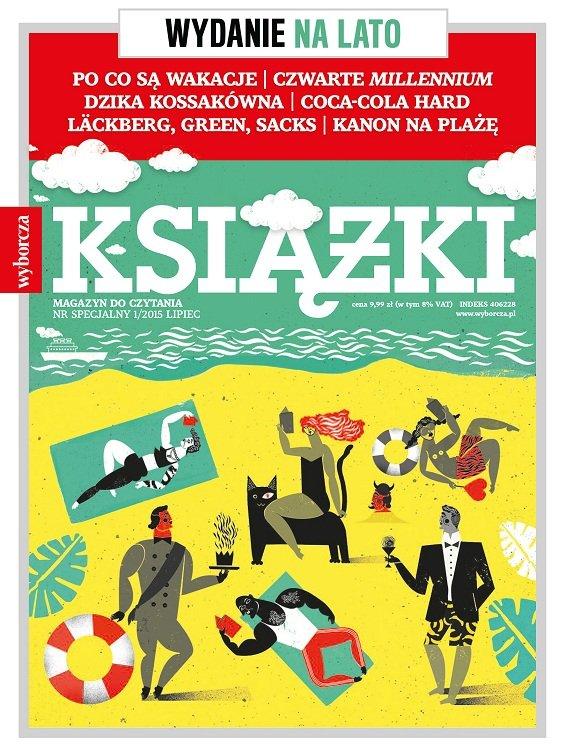 """Ksi��ki. Magazyn do Czytania"". Od wtorku numer specjalny na lato!"