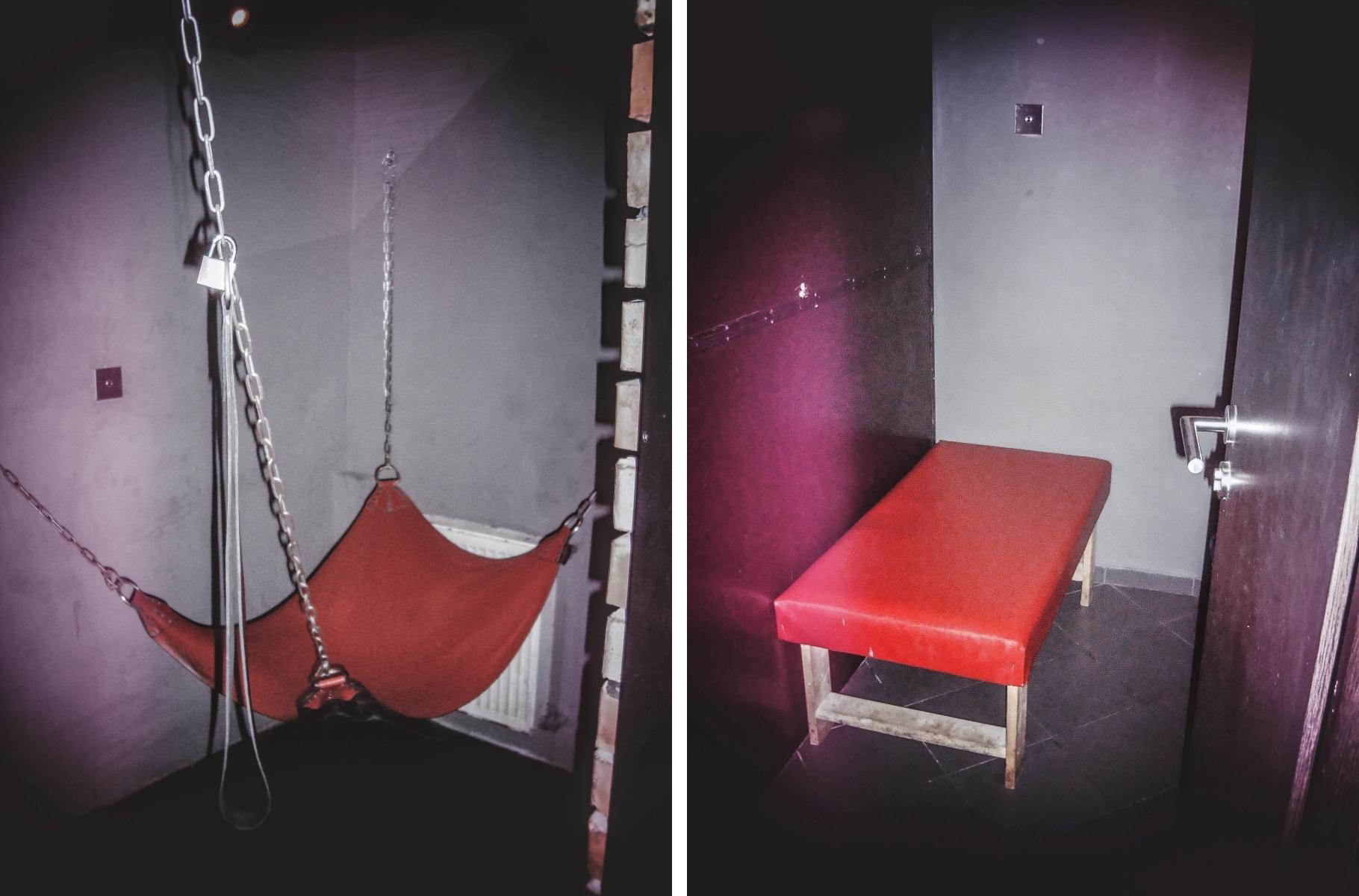 Sekskabiny - dla ceniących prywatność (fot. Izabela Jąderek)