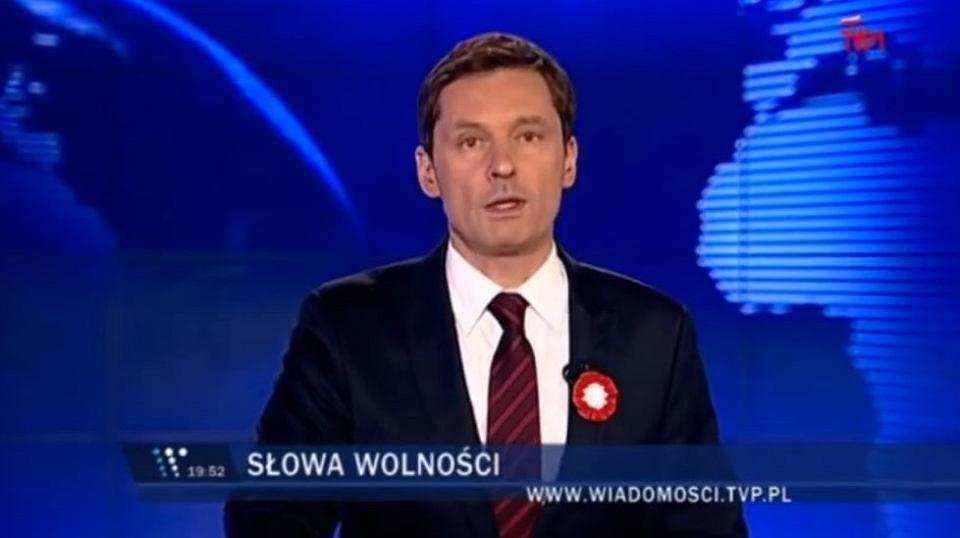 'Wiadomości' TVP sprzed 5 lat. Krzysztof Ziemiec zapowiadał materiał o 4 czerwca