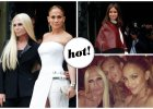 Fashion Week Haute Couture wystartowa�! Na pokazie u Donatelli Versace w pierwszym rz�dzie J.Lo, a na wybiegu Anja Rubik [ZDJ�CIA]