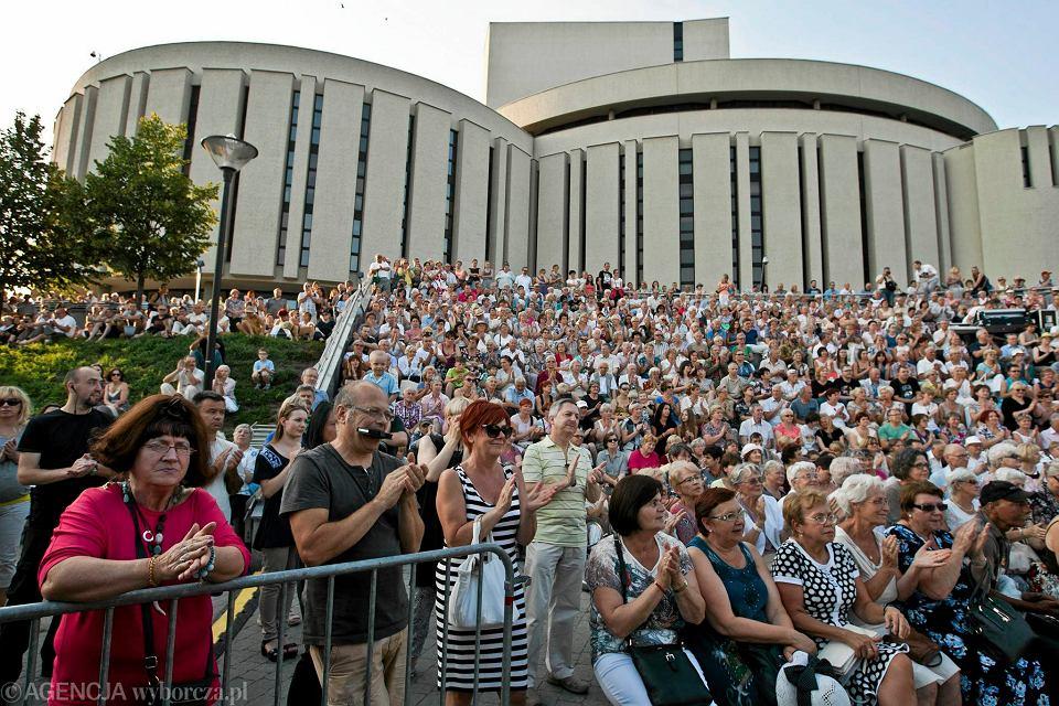 2 sierpnia 2015. Amfiteatr przy Operze Nova, Marta Lutrzykowska i Spring Quintet, koncert w ramach Rzeki Muzyki.