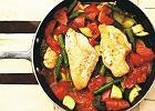 Pomys� na obiad. Kurczak z warzywami - sommelier dobiera wino