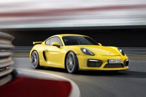 Salon Genewa 2015   Porsche Cayman GT4   Na ostro