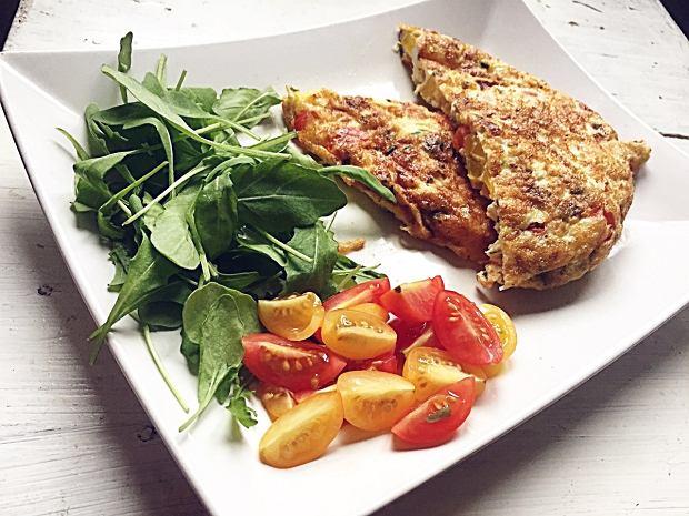Omlet z warzywami (Aga Szymczak)